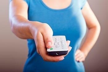 Remote Control Woman