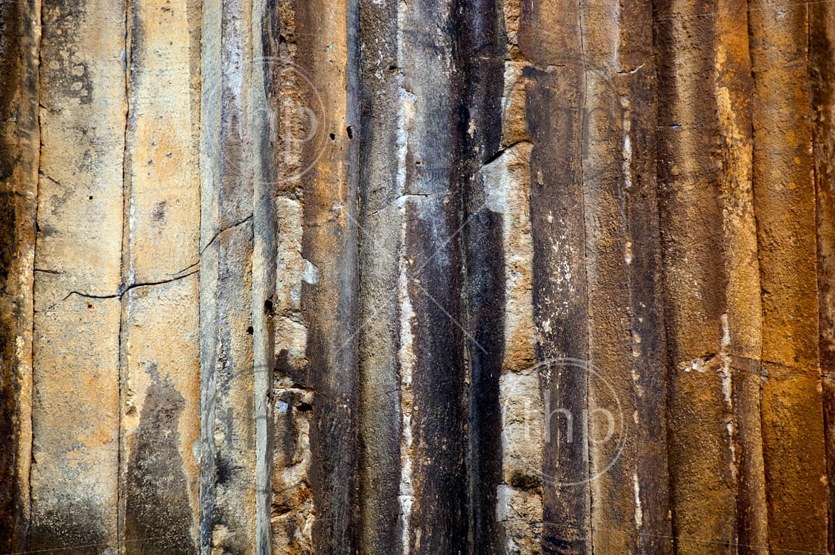 Amazing natural formations of Sawn Rocks, Narrabri, Australia create an amazing natural rock background
