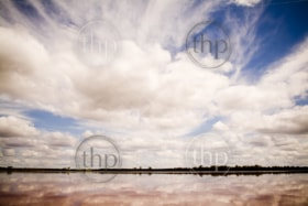 The remarkable Pink Lake, outside Dimboola, Australia