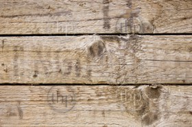Wood texture in rough, worn detail as background