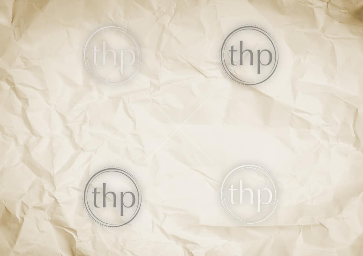 Crumpled and wrinkled white paper background texture