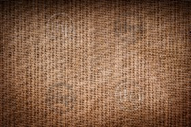 Hessian or burlap sack texture as background