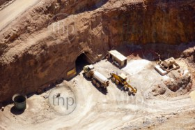 Mining in Australia at the Cobar mine site