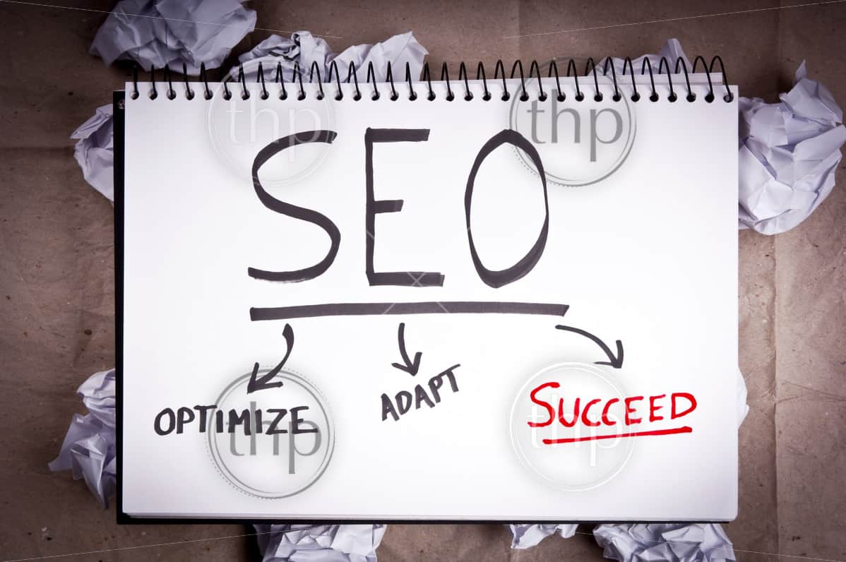SEO - search engine optimization - concept for adaption and success