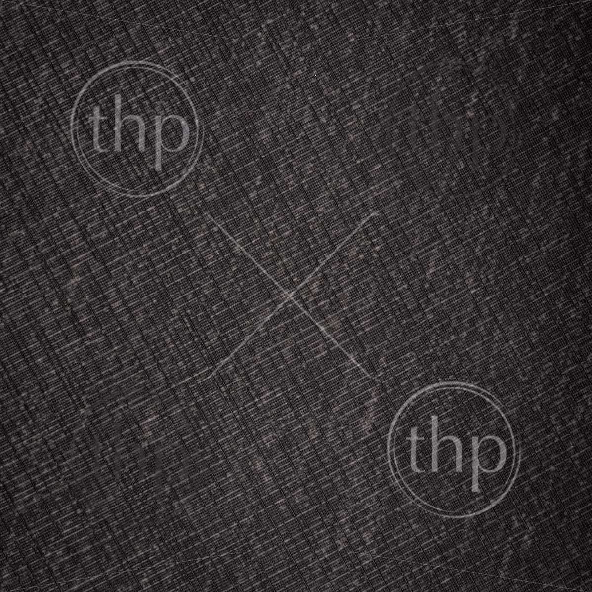 Detailed texture of deep black linen as a background