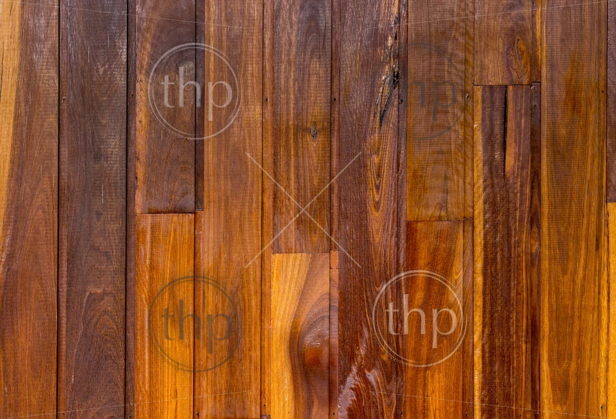 Vibrant wood panel boards that have been stained