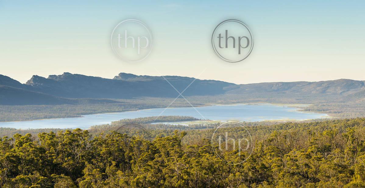 Lake Wartook reservoir in the Grampians National Park, Victoria, Australia