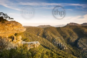 The Balconies lookout in the Grampians National Park, Victoria, Australia