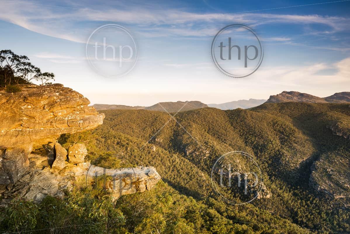 The Balconies lookout in the Grampians National Park, Victoria, Australia