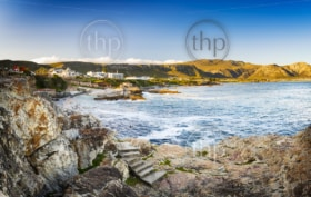 Whale watching town of Hermanus, South Africa