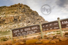Sign for the Cape of Good Hope, Cape Peninsula, South Africa