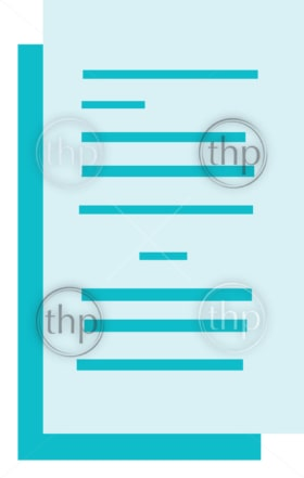 Files icon in a simple flat design vector