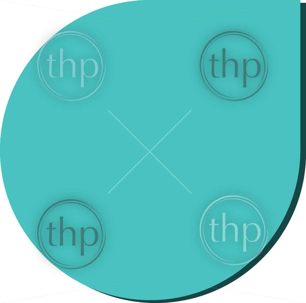Modern flat design vector in water drop shape