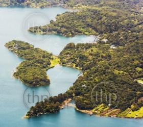 Lake Atitlan shoreline town Santiago, Guatemala, Central America