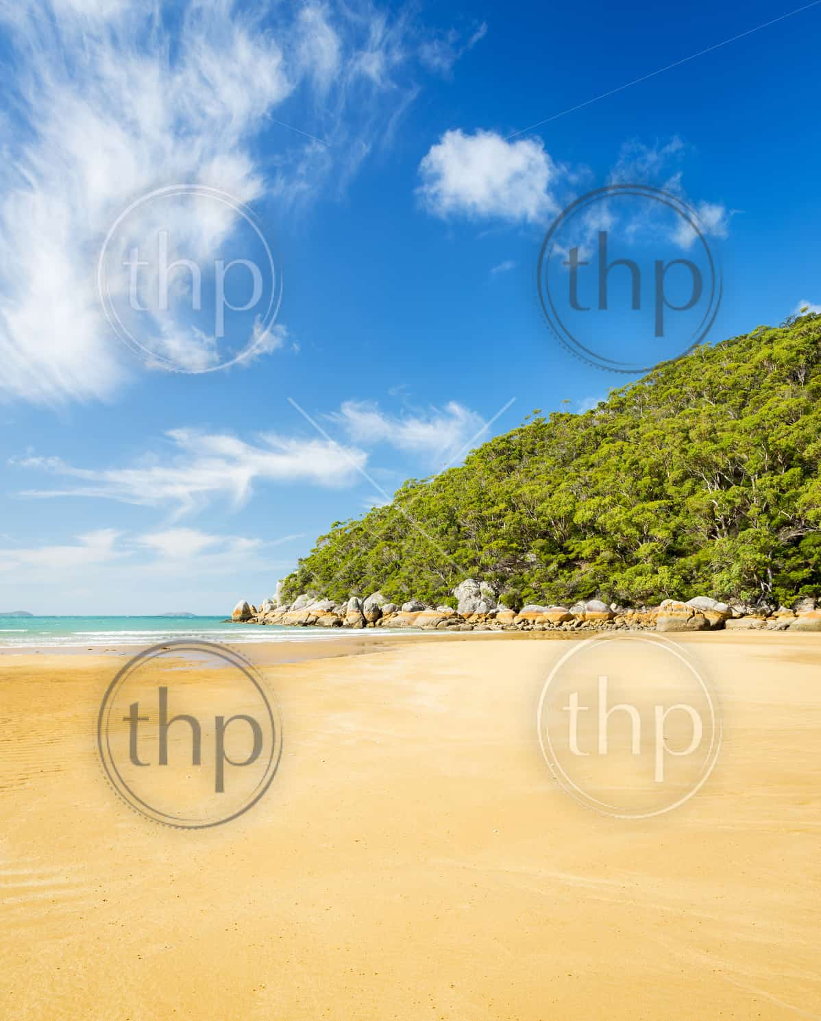 Beach at Sealers Cove in Wilsons Promontory National Park, Victoria, Australia