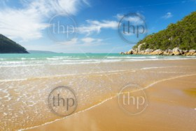 Sealers Cove beach in Wilsons Promontory National Park, Victoria, Australia