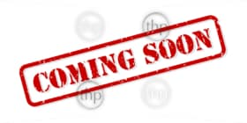 Coming soon red rubber stamp vector isolated